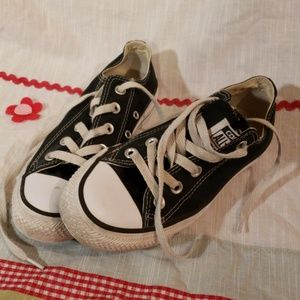 Converse All Star Canvas Sneakers Black sz 5